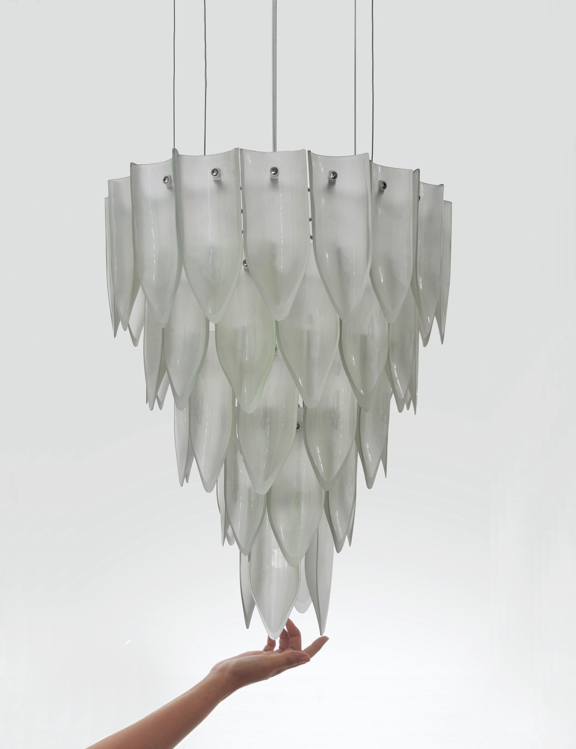 Transglass Chandelier · Tord Boontje
