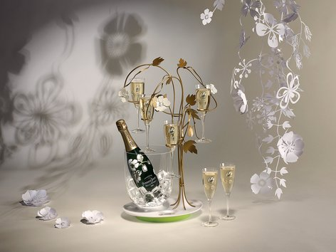 The Enchanting Tree for Perrier-Jouët