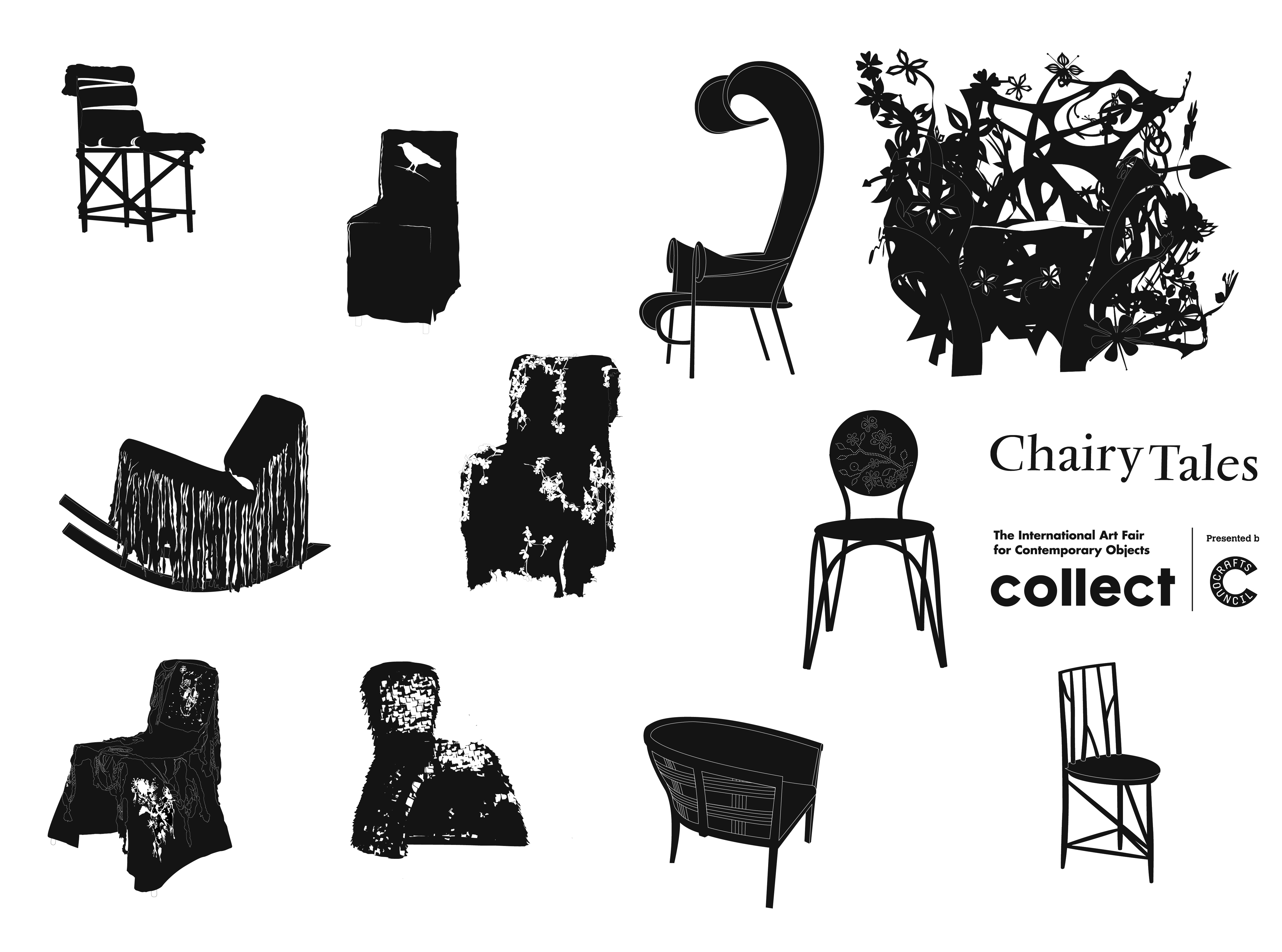 Chairy Tales at COLLECT: The International Art Fair for Contemporary Objects